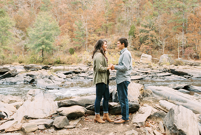 Sweetwater Creek Engagement Session