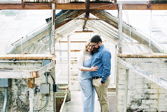 Greenhouse Engagement Session
