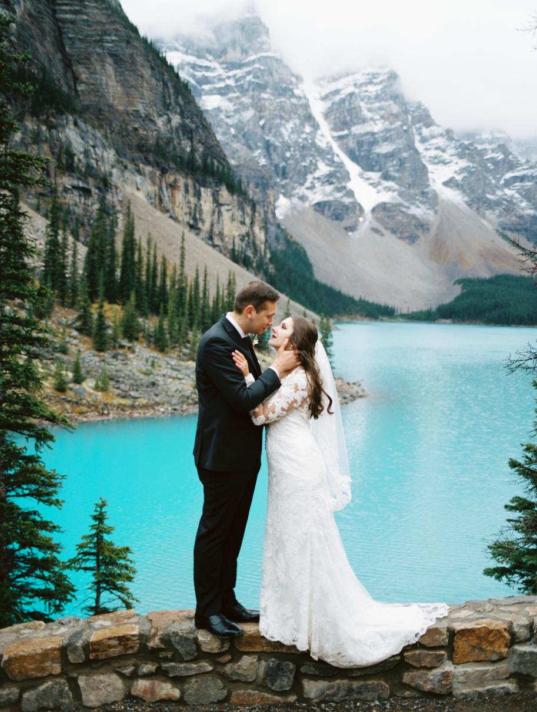 Moraine Lake Wedding Photographer