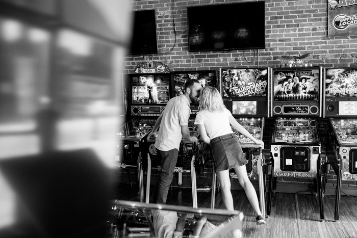 Boxcar Barcade Engagement Session
