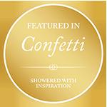 Photographer Featured in Confetti Wedding Magazine